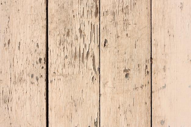 Tavole di legno dipinte squallide