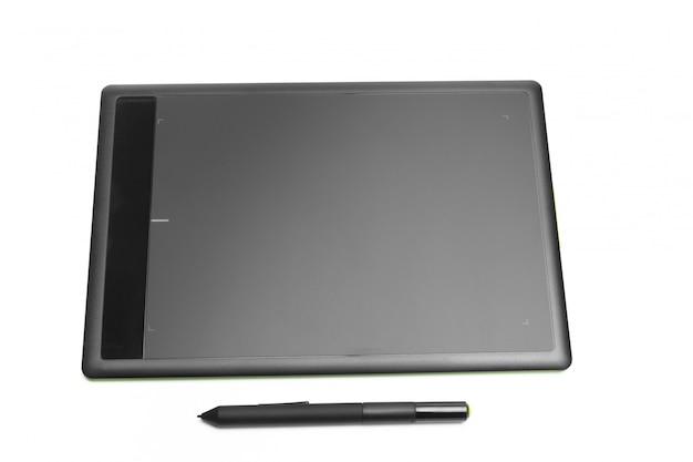 Tavoletta grafica con penna per illustratori e designer