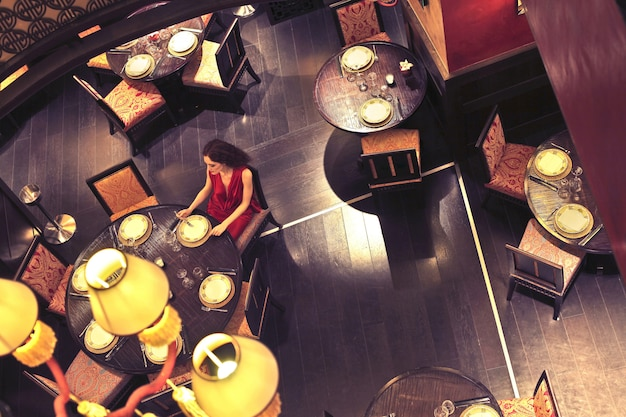 Tavoli in un ristorante