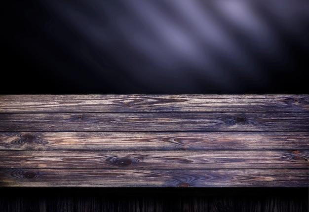 Tavolo in legno scuro