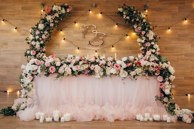 Tavolo per sposi