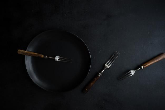 Tavolo scuro