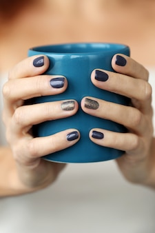 Tazza blu