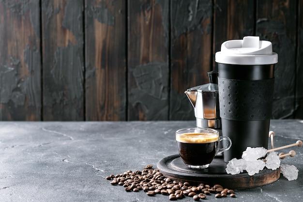 Tazza di caffè espresso