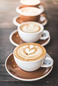 Tazza di caffè latte