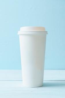 Tazza di carta di caffè da asporto