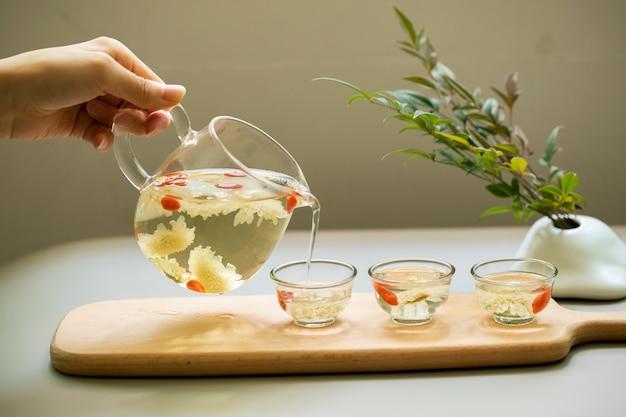Tè al crisantemo