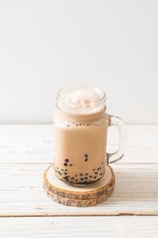 Tè al latte di taiwan con bolle