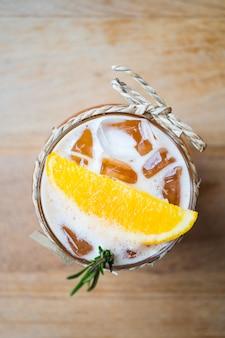 Tè al limone ghiacciato