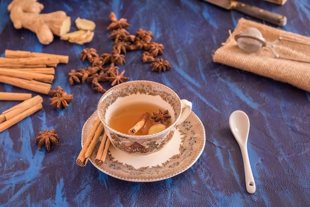 Tè allo zenzero