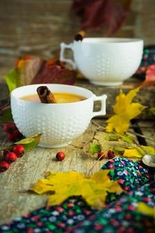 Tè autunnale al limone