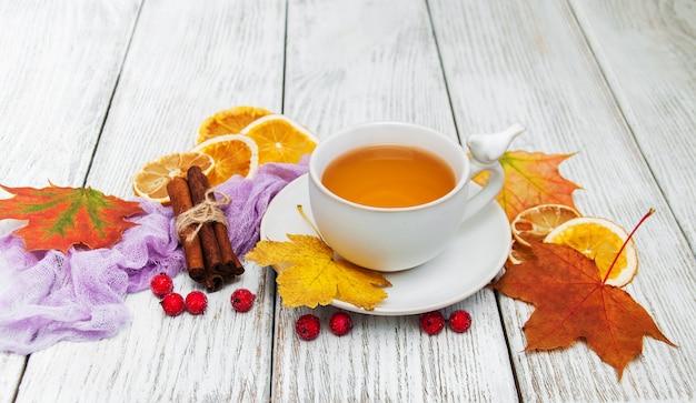 Tè caldo con spezie