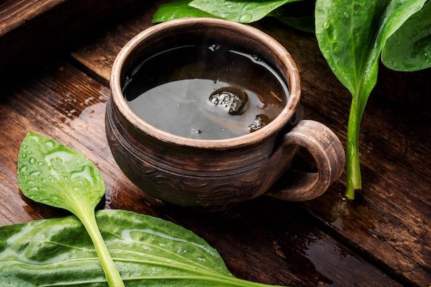 Tè con piantaggine