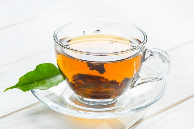 Tè del mattino sul tavolo