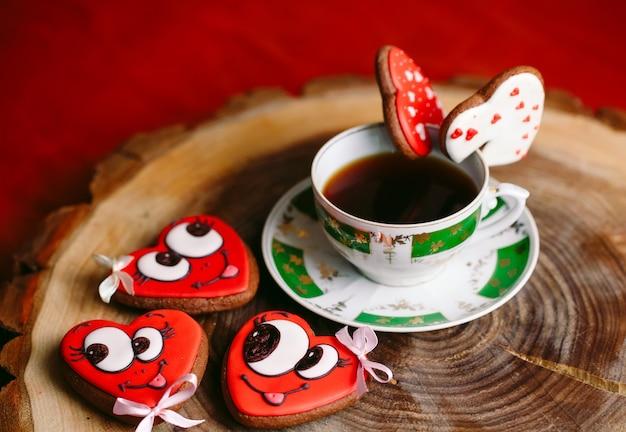 Tè delle spezie a san valentino.