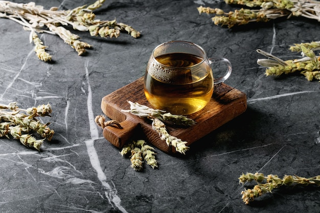Tè di montagna greco alle erbe verde