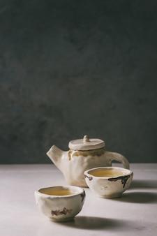 Tè verde caldo