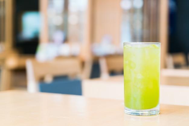 Tè verde ghiaccio