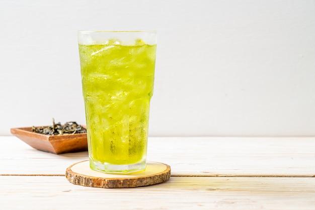 Tè verde giapponese ghiacciato
