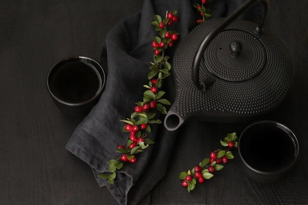 .tea cerimonia in stile minimalista