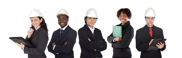 Team di cinque architetti