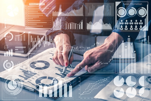 Tecnologia big data per il business.