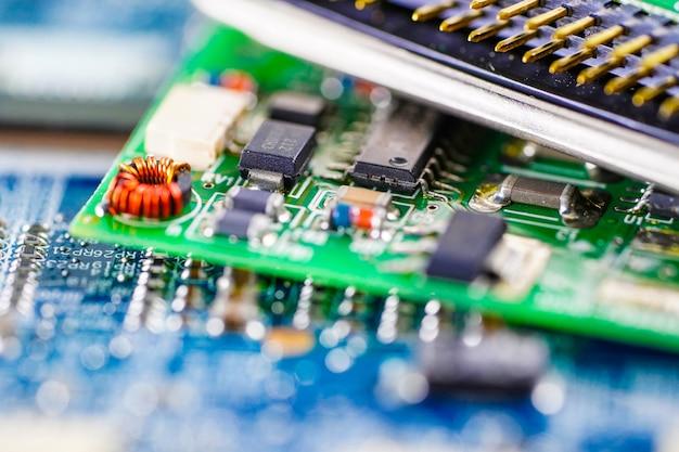 Tecnologia della scheda madre del circuito del computer.