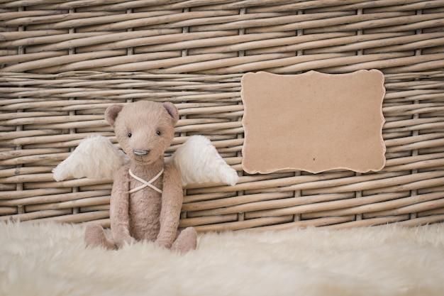 Teddy bear teddy forma vuota