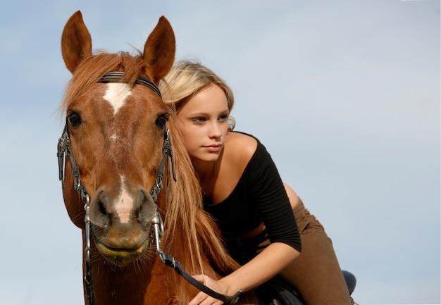 Teen e cavallo