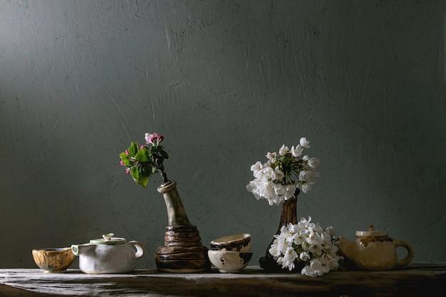 Teiere in ceramica artigianale