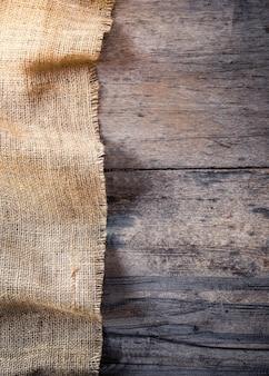Tela da imballaggio e priorità bassa di struttura in legno