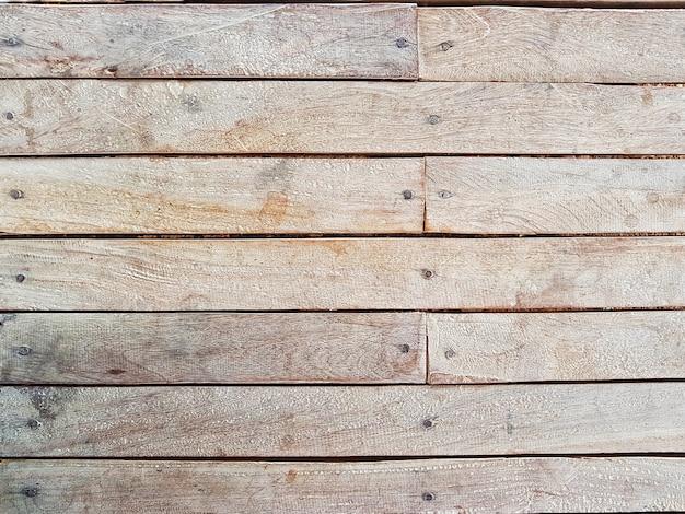 Telaio completo del pavimento in legno, parete, tavolo vintage superficie strutturata sfondo per il contesto.