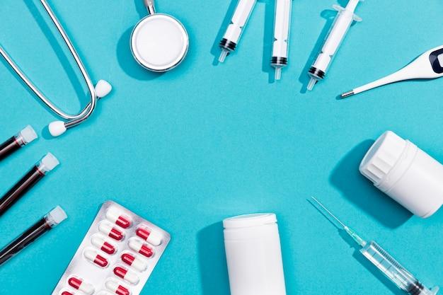 Telaio del trattamento sanitario