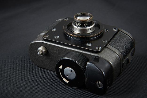 Telecamera in miniatura per foto spia durante la guerra fredda
