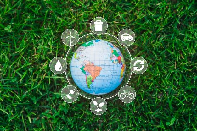 Tema della natura e delle energie rinnovabili