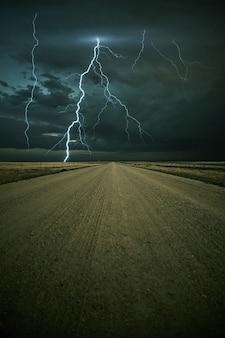 Tempesta di fulmine avanti