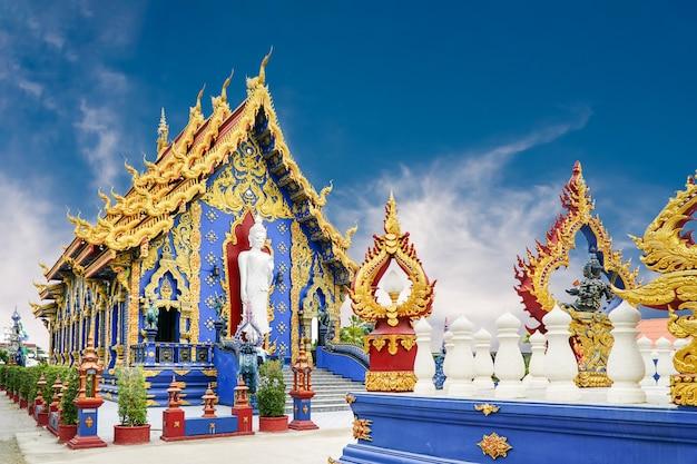 Tempio blu (rong sua ten), chiang rai thailand.