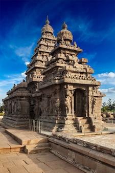 Tempio costiero di mahabalipuram, tamil nad