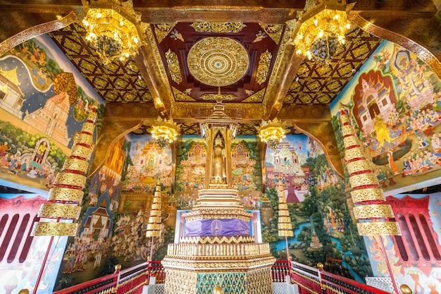 Tempio d'oro della thailandia