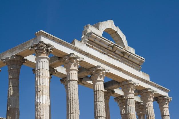 Tempio di dianes, merida, spagna