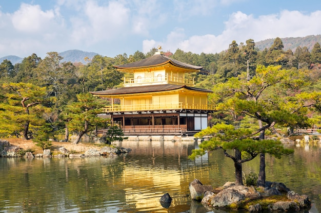 Tempio di kinkakuji a kyoto