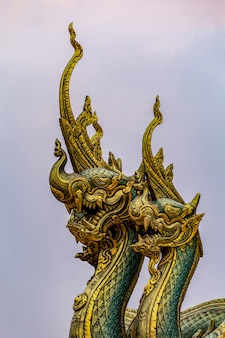 Tempio di wararam phu pao di sirinthorn, ubon ratchani, tailandia