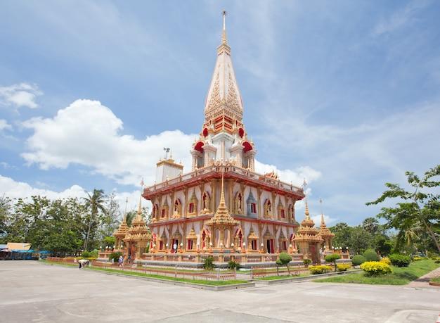 Tempio di wat chalong, phuket