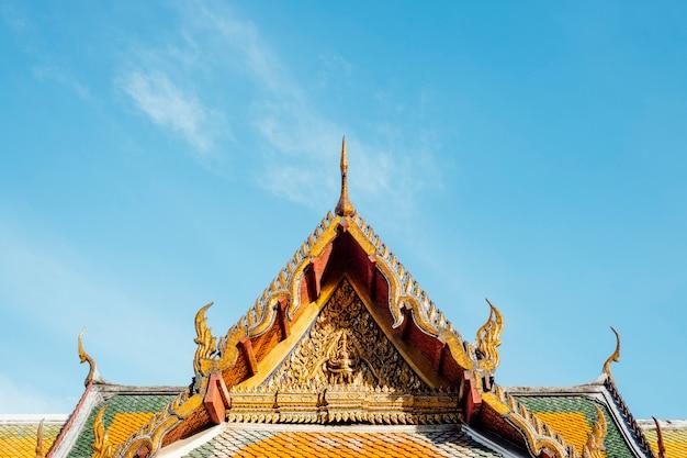 Templ tailandese tailandia di wat suthat thepwararam bangkok