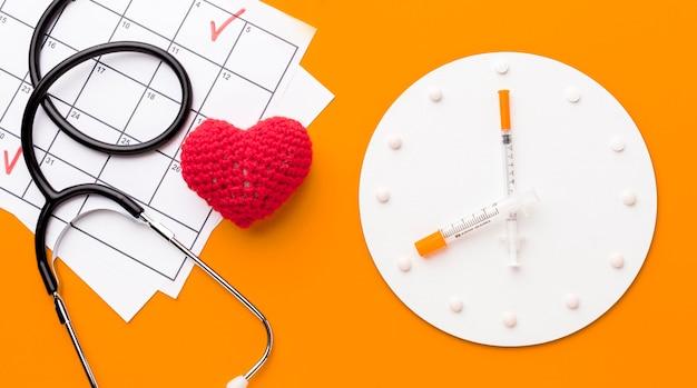Tempo di visualizzazione dall'alto per il trattamento del cuore