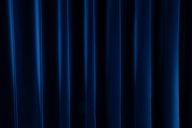 Tenda blu scuro