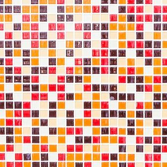 Tessere di mosaico colorato