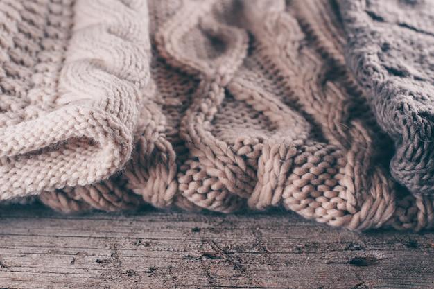 Tessitura a maglia di lana