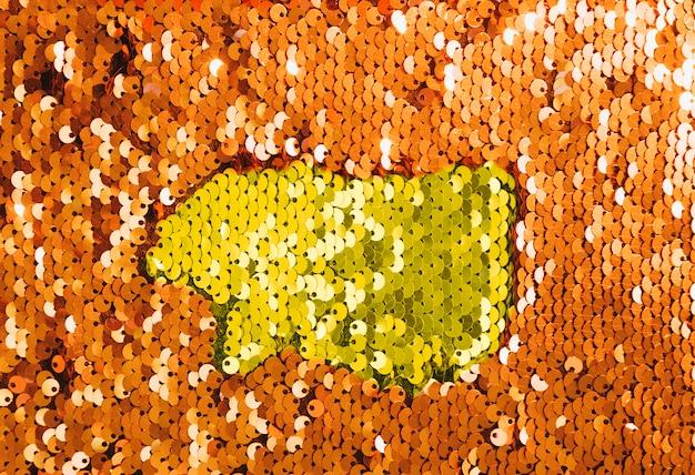 Tessuti di paillettes scintillanti per feste da discoteca o design di moda