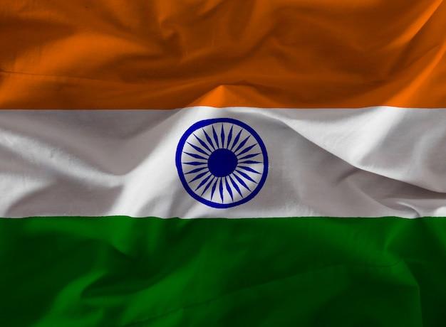 Tessuto bandiera india